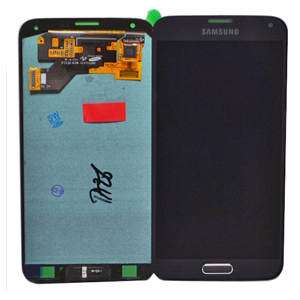 Genuine Samsung SM-G903F Galaxy S5 Neo Complete LCD and Digitizer in Black - Samsung part no: GH97-17787A